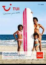Promos et remises  : Brochure TUI Club Lookéa Été 2020