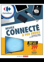 Prospectus Carrefour : RESTEZ CONNECTE A VOS ENVIES