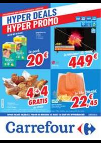 Prospectus Carrefour FLEMALLE : folder Carrefour