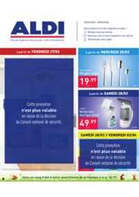 Prospectus Aldi DINANT : Folder Aldi