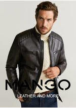 Catalogues et collections MANGO : Leather and More   Men