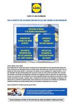 Services et infos pratiques Lidl : COVID-19: Lidl se mobilise