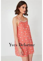 Prospectus Yves Delorme : Nuisettes Femme