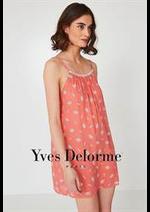 Prospectus Yves Delorme : Nuisettes Femme