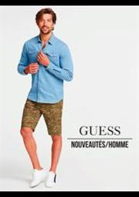 Catalogues et collections Guess Liège : Nouveautés  Homme