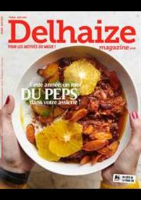 Journaux et magazines Supermarché Delhaize Sint-Truiden : Delhaize Magazine