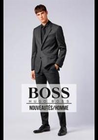 Prospectus Hugo Boss Paris 168 Boulevard Saint Germain : Nouveautés / Homme