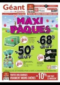 Prospectus Géant Casino : Maxi Pâques