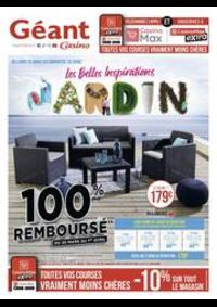 Prospectus Géant Casino LALOUBERE : Les belles inspirations jardin