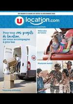 Promos et remises  : U  LOCALTION