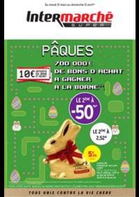 Prospectus Intermarché Super Saint-Etienne du Rouvray : PÂQUES