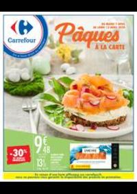 Prospectus Carrefour AUBERVILLIERS : Pâques à la carte
