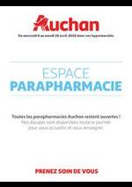 Services et infos pratiques Auchan : Espace Parapharmacie