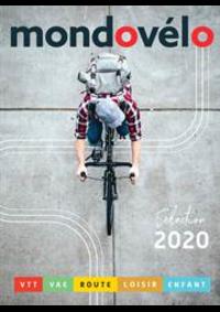 Prospectus Sport 2000 GIVET : Catalogue Mondovélo 2020