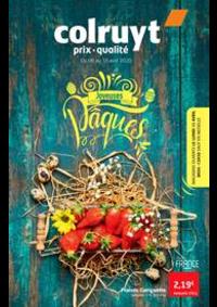 Prospectus Colruyt HANNUT : Joyeuses paques