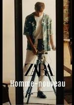 Catalogues et collections ZARA : Homme Nouveau