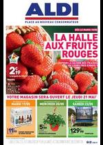Prospectus Aldi : La halle aux FRUITS ROUGES !