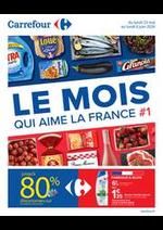 Promos et remises Carrefour : LE MOIS QUI AIME LA FRANCE #1