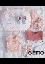 Catalogues et collections Gemo : Nouveautes Bébé