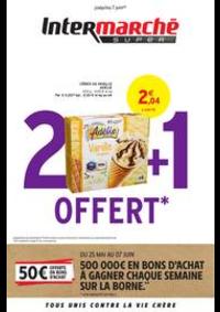 Promos et remises Intermarché Super Givet : 2 + 1 OFFERT