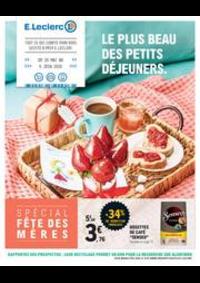 Prospectus E.Leclerc PANTIN : Le plus beau des petits déjeuners