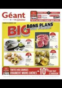 Prospectus Géant Casino PONTARLIER : Big bons plans