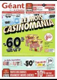 Prospectus Géant Casino PONTARLIER : Le mois Casinomania