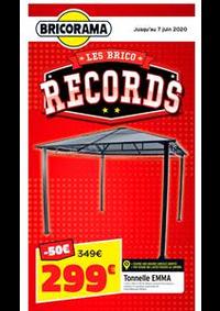 Prospectus Bricorama BOULOGNE BILLANCOURT : Les Brico Records