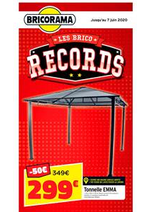Prospectus Bricorama : Les Brico Records