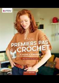 Prospectus Phildar distributeur Bergues : Premier Pas au Crochet