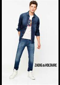 Prospectus Zadig et Voltaire PARIS : Collection Chemises / Homme