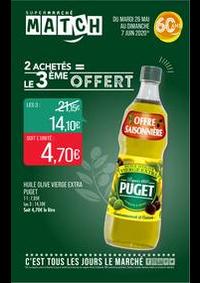 Prospectus Supermarchés Match Metz - Queuleu : 2 achetés = le 3ème offert