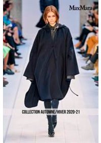 Prospectus Max Mara Le Chesnay  : Collection Automne/Hiver 2020-21
