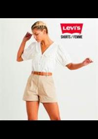 Catalogues et collections Levi's Store Pairs Italie : Shorts  Femme