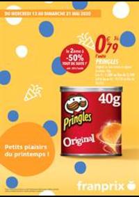 Prospectus Franprix VERSAILLES 5 rue Rameau : Petits plaisirs du printemps!
