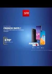 Prospectus SFR Paris 3e Arrondissement : French Days!