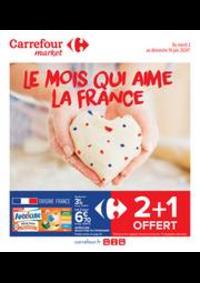 Promos et remises Carrefour Market MASSY : Le mois qui aime la France