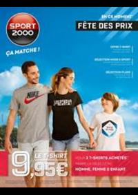 Prospectus Sport 2000 GIF SUR YVETTE : Fête des prix