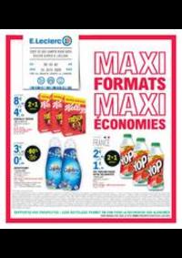 Prospectus E.Leclerc LE BLANC MESNIL : MAXI FORMATS MAXI ÉCONOMIES