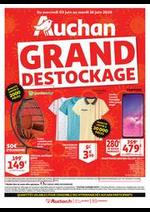 Prospectus Auchan : Grand déstockage