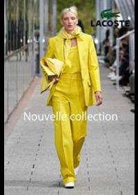 Prospectus Lacoste Paris 37 Bd des capucines : Nouvelle Collection