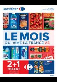 Promos et remises Carrefour ISSOIRE : Le Mois qui aime la France #3
