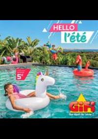 Prospectus Gifi HYERES : Hello l'été