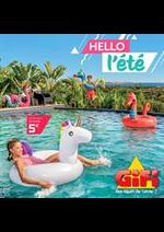 Prospectus Gifi : Hello l'été