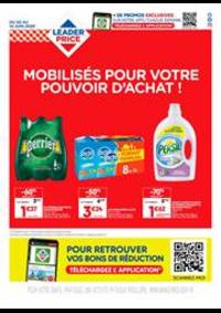 Prospectus Leader Price Paris 43 Rue Cler : Mobilisés pour votre pouvoir d'achat !