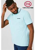 Catalogues et collections C&A : T-Shirts & Polos  Homme