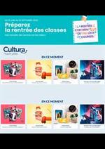Prospectus Cultura : Préparez la rentrée des classes