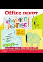 Prospectus Office DEPOT : RÉINVENTE TA RENTRÉE !