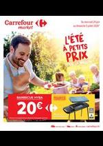 Prospectus Carrefour Market : L'été à petits prix