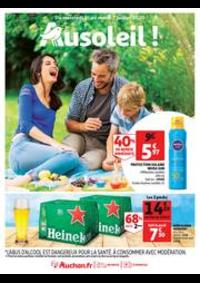 Prospectus Auchan Epinay sur Seine : Au soleil !